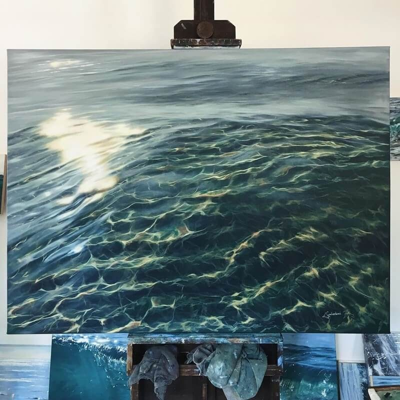 01-Irina-Cumberland-Realistic-Water-Paintings-www-designstack-co