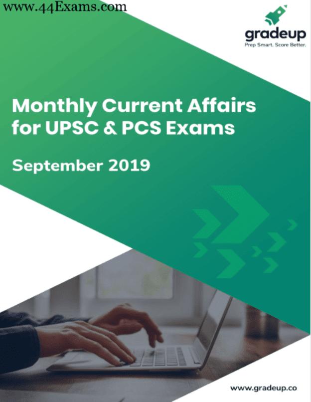 Gradeup-Current-Affairs-September-2019-For-UPSC-Exam-PDF-Book