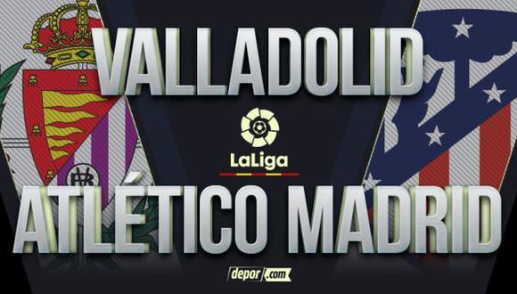 Atlético de Madrid vs Valladolid EN VIVO vía DirecTV Sports: minuto a minuto por LaLiga Santander