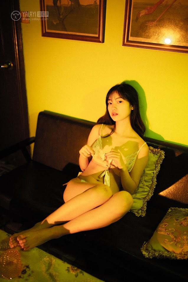 YALAYI雅拉伊 2019.04.24 No.256 人间失格 天蓝酱