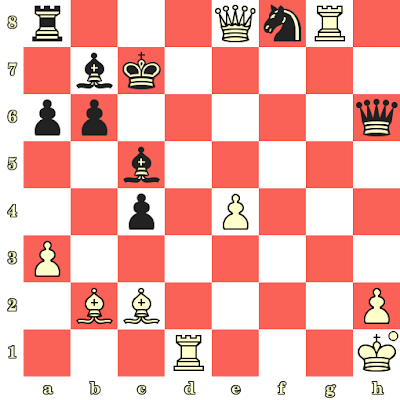 Les Blancs jouent et matent en 4 coups - Semyon Furman vs Boris Ratner, Vilnius, 1949
