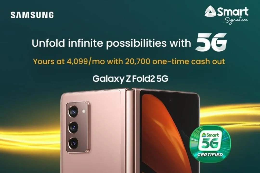 Smart Opens Samsung Galaxy Z Fold2 5G Pre-Order with Php52K+ Worth of Freebies