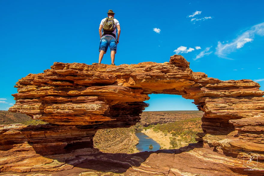Kalbarri National Park, WA - Man Travels 40,000km Around Australia and Brings Back These Stunning Photos