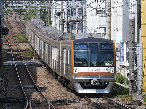 【4年ぶりの8両化】東京メトロ10000系10105F各停 菊名行き