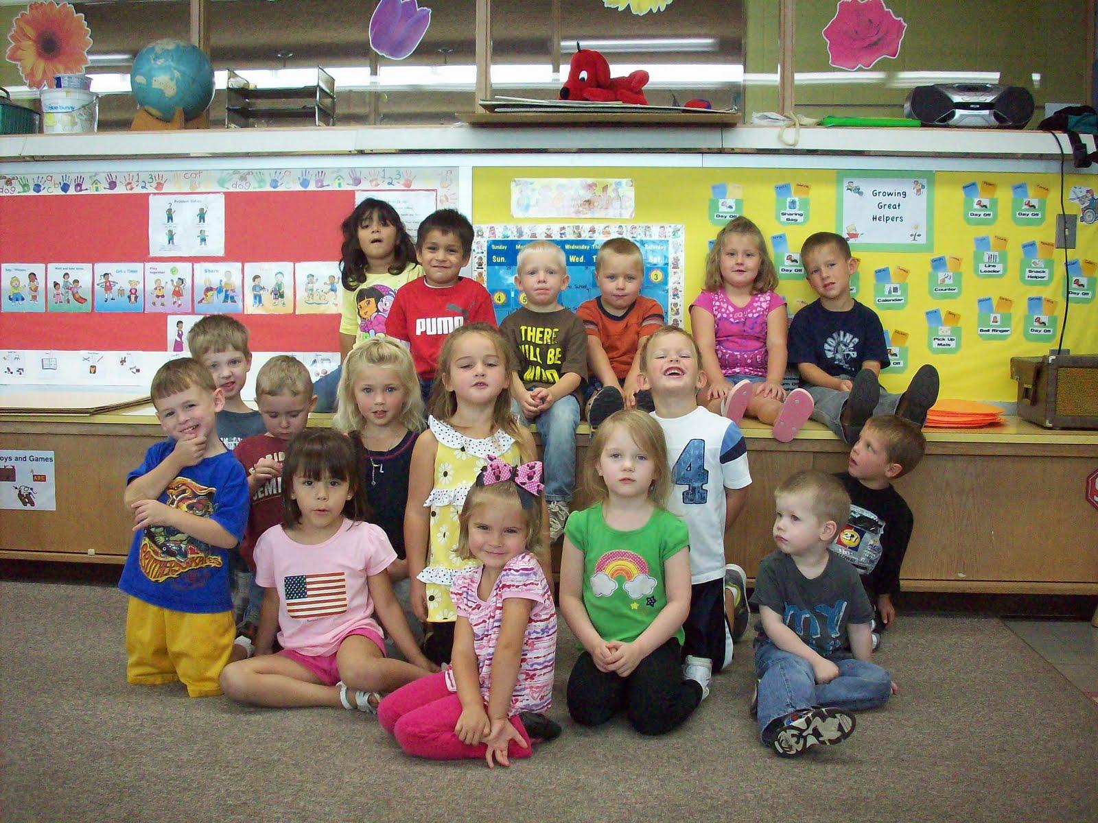 Kindergarten Class: Newell-Fonda Preschool: Preschool Classes