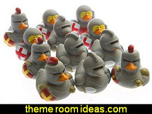 Medieval Rubber Ducks medieval knights party props - castle theme party decorations - Medieval theme party decorating - Castle party props - princess party props - knight and princess costumes - Princess & Knight party ideas - Medieval wall decorating kit - harry potter party supplies - Medieval Birthday Party