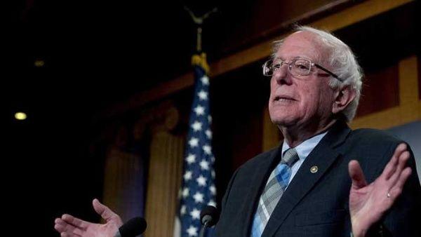 Sanders critica interferencia de Trump en justicia de EE.UU.