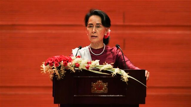 Myanmarese State Counsellor Aung San Suu Kyi defends handling of crimes against Rohingya Muslims