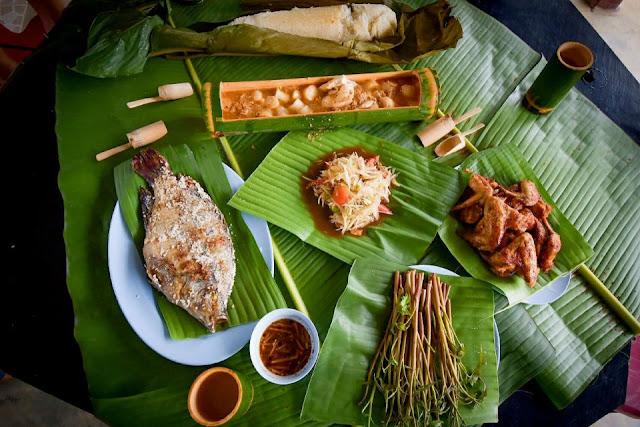 Ẩm thực Lào mang hương vị đầy đặc sắc