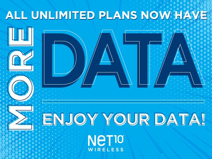 Net 10 Plans >> Net10 Adds More High Speed Data To All Its Monthly