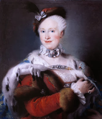 Maria Luisa of Spain by Lorenzo Baldissera Tiepolo, 1763