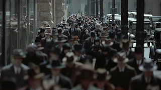Road to Perdition directed by Sam Mendes telephoto shot