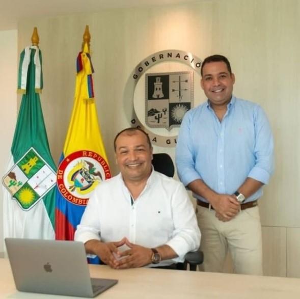https://www.notasrosas.com/Mininterior designó a José Jaime Vega Vence, como gobernador de La Guajira