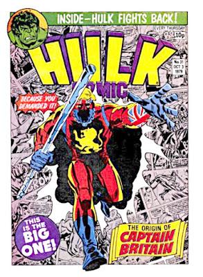 Hulk #31, Origin of Captain Britain