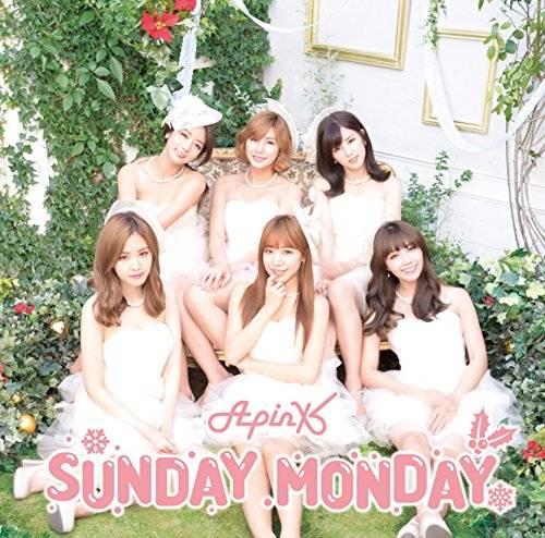 [Single] Apink – SUNDAY MONDAY -Japanese Ver.- (2015.12.09/MP3/RAR)