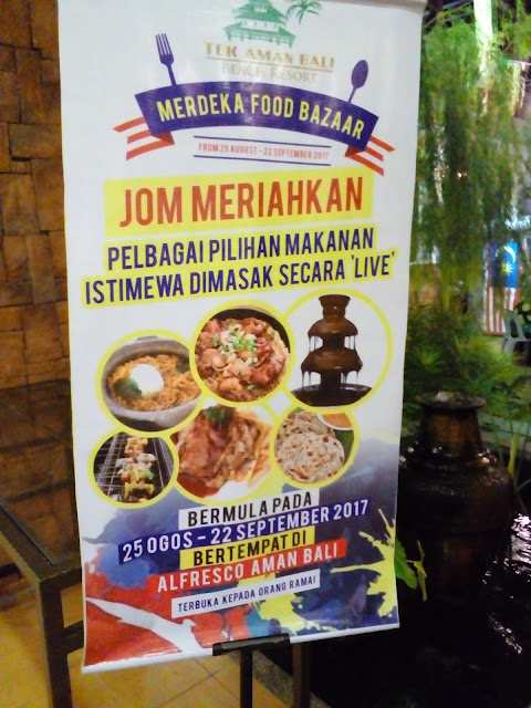 Food Review : Merdeka Food Bazaar di Alfresco Aman Bali