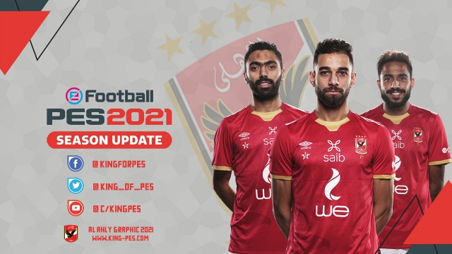 PES 2017 AL AHLY 2021 Graphic By KING-PES