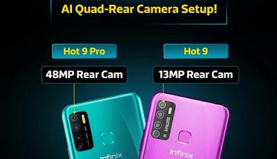 Infinix-Hot9-and-hot9-pro-specs-rear-cameras