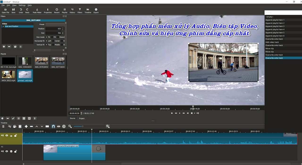 Tổng hợp phần mềm xử lý và biên tập Audio - Video - Film chuyên nghiệp nhất.