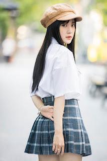 """""""Thiên thần đồng phục"""" Bắc Ninh xinh đẹp như nàng thơ"""