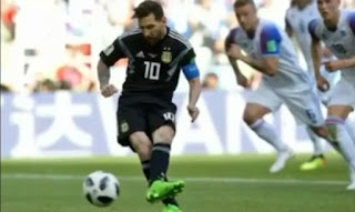 Lionel Messi Gagal Pinalti
