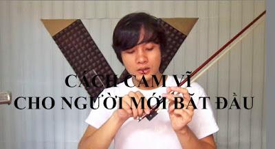 Hướng dẫn học violin – Cách cầm vĩ đúng đăn cho người mới bắt đầu.