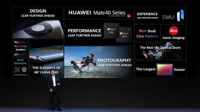 HUAWEI เปิดตัว Mate 40 Series สมาร์ทโฟน Hardware ประสิทธิภาพสูง กล้องจัดเต็ม