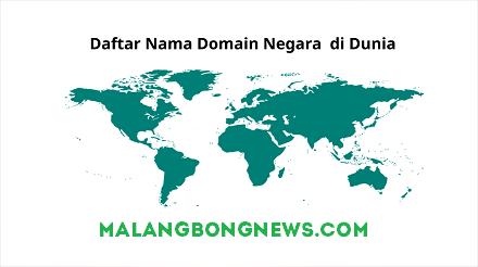 Blogger Harus tau!!! Daftar Nama Domain Negara di Dunia