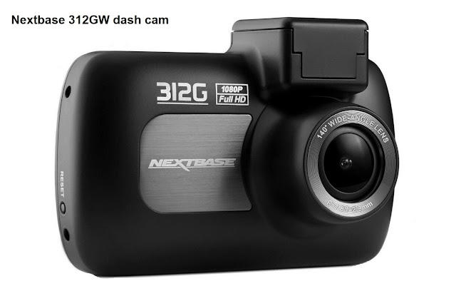 Nextbase 312GW dash cam specifications and review