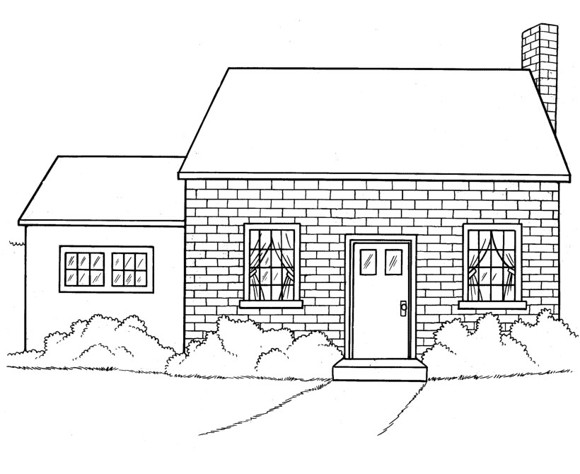 - Kids Under 7: Houses And Homes Coloring Pages