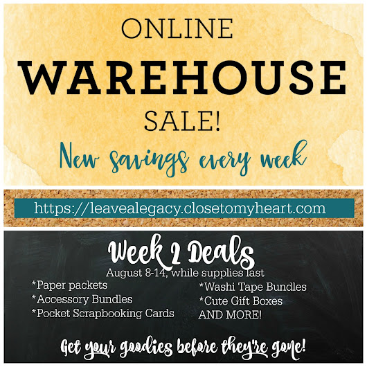 50% Off Crafting Warehouse Sale