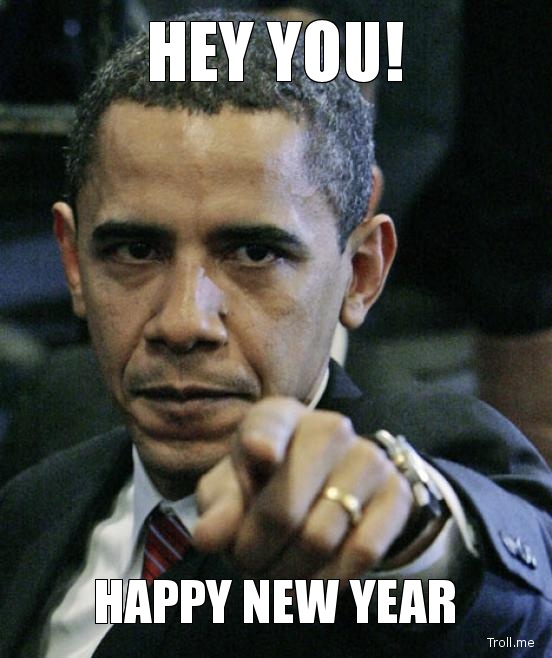 Hey You! Happy New Year – Obama
