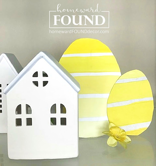 art,paper crafts,paper,wall art,spring,Easter,painting,DIY,diy decorating,decorating,wreaths,colorful home,Pantone color of the year,yellow,Illuminating Yellow,Pantone 2021 color of the year,Easter eggs,Easter decor,spring home decor,spring decorating,use what you have decorating,re-purposing,upcycling,trash to treasure,paint chips,paint chip inspired.