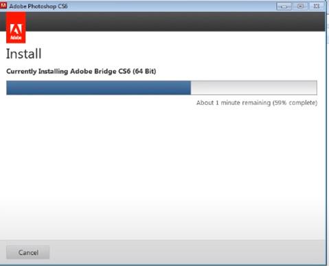 Hướng dẫn cài đặt phần mềm Photoshop CS6 đơn giản và chi tiết e