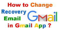How to Change Recovery Email Address in Gmail App?