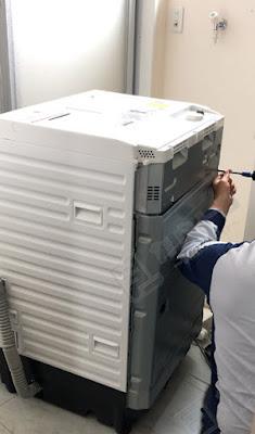 ドラム洗濯乾燥機 NA-VX800AL 修理レビュー