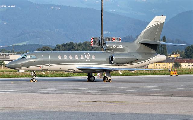 Falcon 50EX of Dassault Aviation