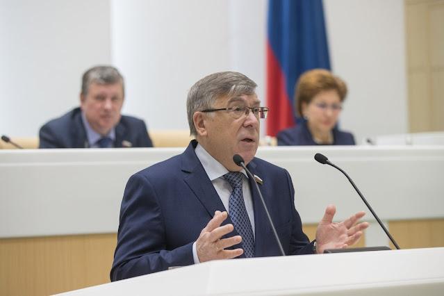 В. Рязанский – зампред Совфеда по социальной политике