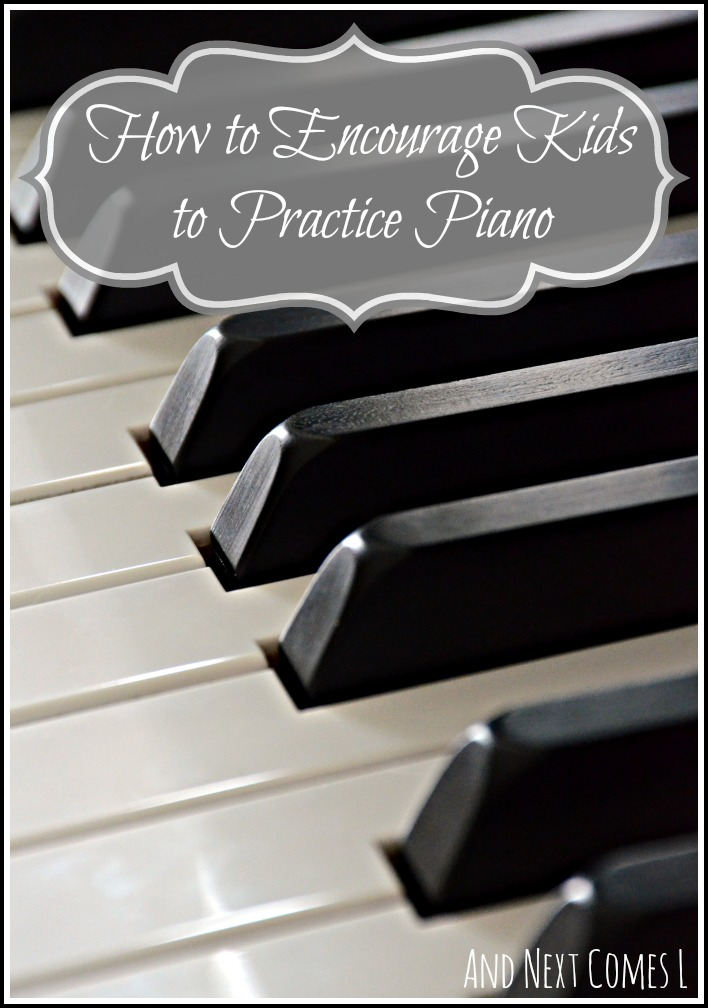 How to get your kids to practice piano