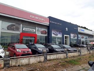 Thời gian mở cửa làm việc showroom ô tô Kia