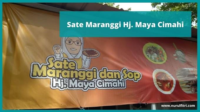 Sate Maranggi Hj. Maya Cimahi