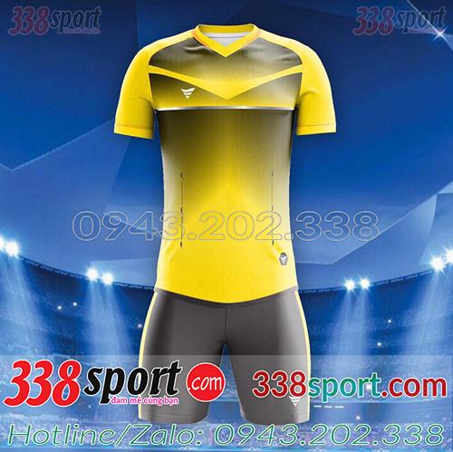 Áo Bóng Đá Không Logo Hot F50 NiCa STA03 Vàng