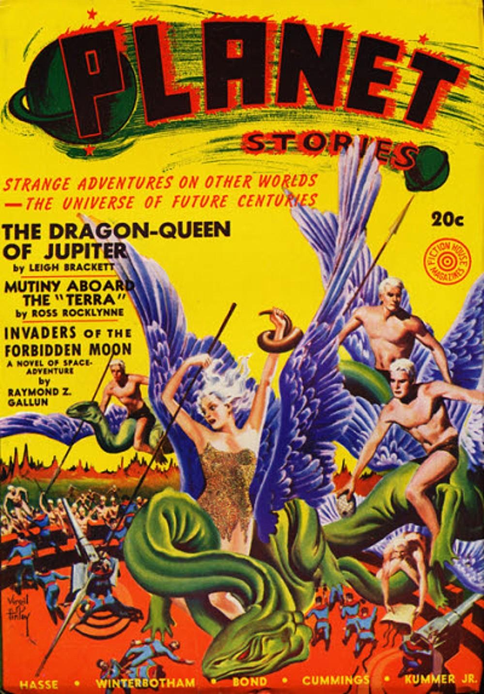 Sunday Morning Bonus Pulp: Planet Stories, Summer 1941