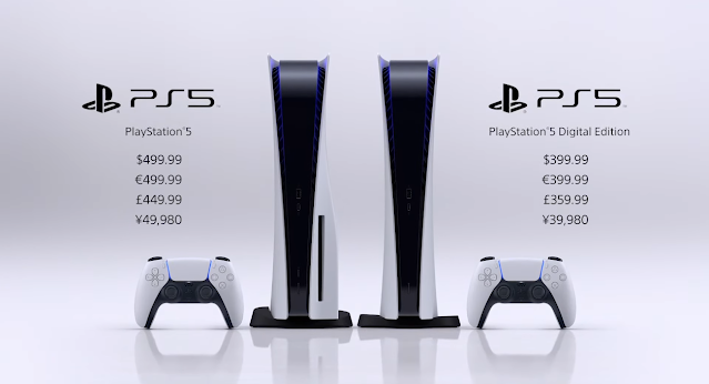 PlayStation 5 price digital version edition $499 $399