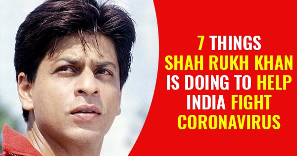 shah rukh khan donation for coronavirus