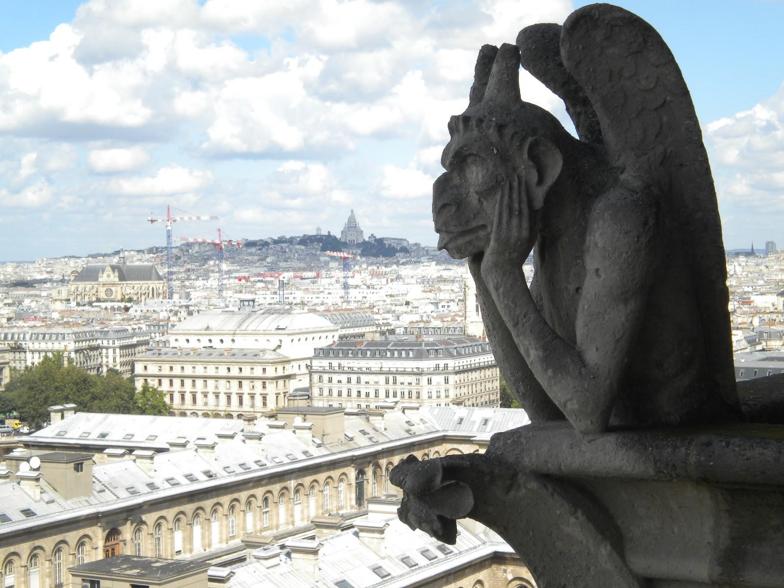 Notre Dame Cathedral Exterior Groteskology: Gargoyle...