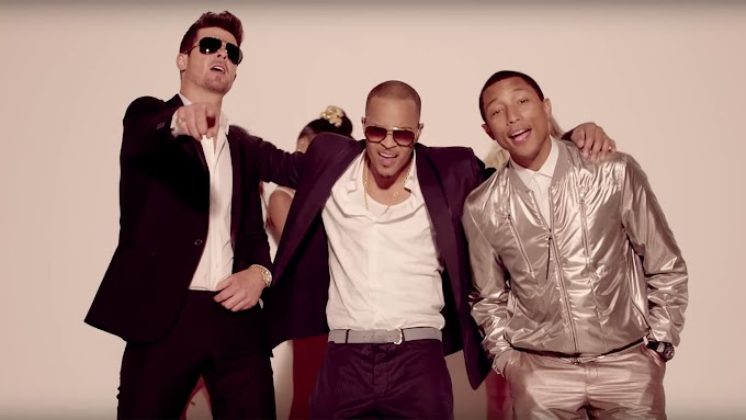 Robin Thicke x Justin Timberlake - Sexy Blurred Lines