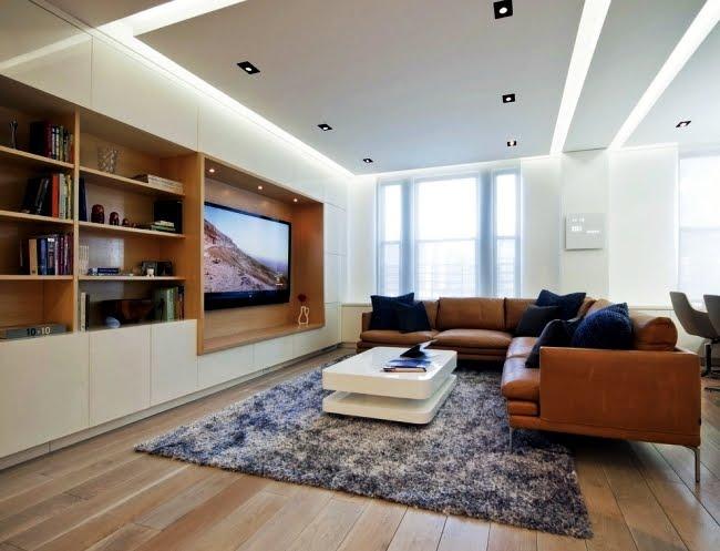 10 Ide Desain Plafon Untuk Ruang Tamu