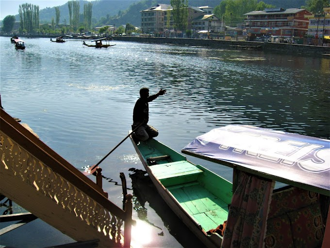 Shikara at Dal Lake