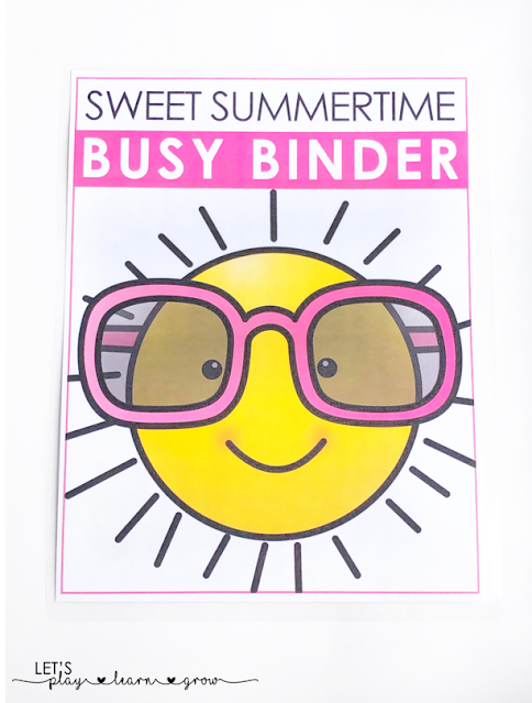 Sweet Summertime Busy Binder